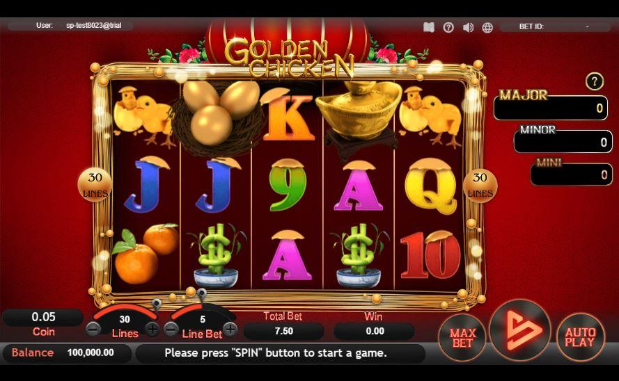 พบกับ Golden Chicken ใน HTML5 และรวยกันเหอะ! sa gaming