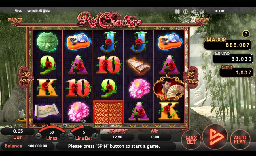 red chamber หน้าเกม สล็อต sa gaming