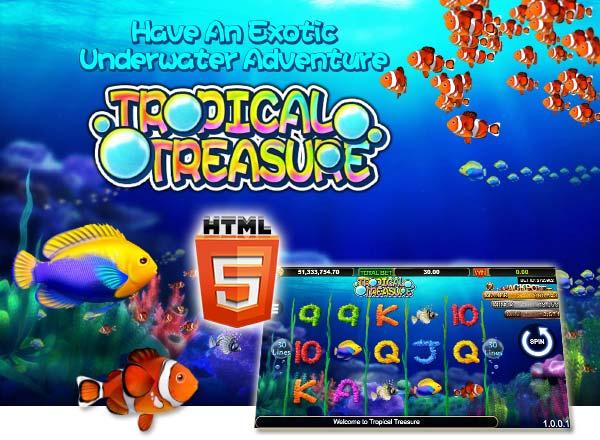Tropical Treasure Slots สล็อต sa gaming