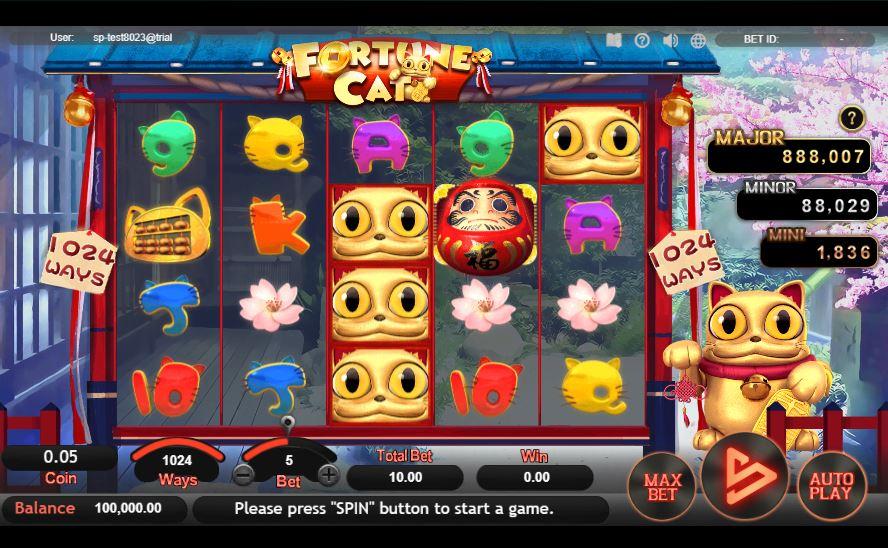 fortune cat สล็อต sa gaming
