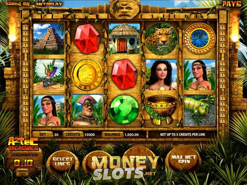 Aztec Treasure สล็อตออนไลน์ PlayPearls